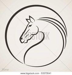 Horse head icon                                                                                                                                                                                 Mais