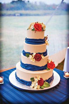 Baker: Confection Art. Photo by Casey Durgin Photography See more cakes at: http://realmaineweddings.com/Planning-Tools/Maine-Cakes.aspx