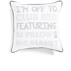 Levtex 'Club Bed' Accent Pillow