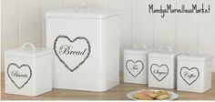 Hearts 5-Piece Storage Set  £20.00 join https://www.facebook.com/groups/MandysMarvellousMarket/ …