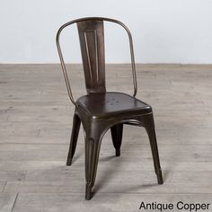 Spencer Metal Dining Chair (India) | Overstock.com Shopping   The Best Deals