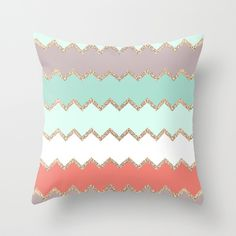 AVALON CORAL Throw Pillow