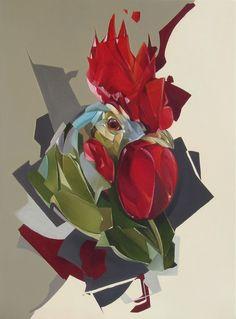 Oil on canvas 2011. by Denis Gonchar, via Behance