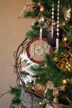 Sweet Something Designs: Noel & Joy DIY Ornaments, could also do monograms or names etc