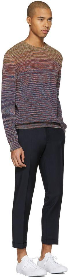 Missoni - Purple Knit Pullover