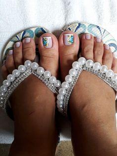 26 ideias de unhas decoradas dos pés pedis in 2019 педикюр. Pretty Toe Nails, Pretty Toes, Nail Art, Beautiful, Nail Ideas, Fashion, Edgy Nail Art, Creative Nails, Nail Bling