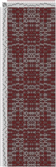 Hand Weaving Draft: cw208029, Crackle Design Project, Ralph Griswold, 8S, 8T - Handweaving.net Hand Weaving and Draft Archive