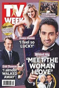 #TVWeek #magazines #covers #May #2016 #JessicaMarais #WaleedAly #ErilThomson #Logies