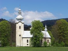 My Lemko grandfather's church Labowa Pl...once a Lemko village, until the Lemkos were driven out after WW II.
