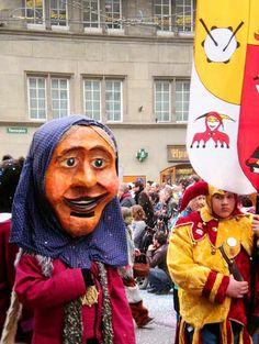 Bern Carnival Parade. Photo credit: Sonja Holverson