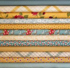 urban cowgirl fat quarter bundle--12 pieces--3 yards total--urban chiks for moda fabrics