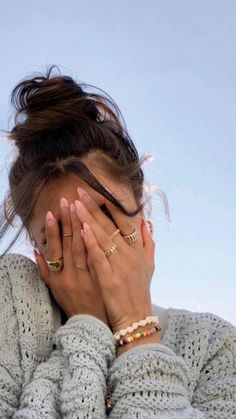 Aesthetic Hair, Summer Aesthetic, Hair Inspo, Hair Inspiration, Mode Hipster, Insta Photo Ideas, Mode Outfits, Cute Jewelry, Jewelry Rings