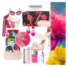 """💝"" by minaoguz on Polyvore featuring moda, Christian Dior, Prada, Sies Marjan, Chanel, Spitfire, Kate Spade, Gucci ve Giuseppe Zanotti"