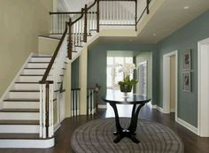 Benjamin Moore Templeton Gray and Carrington Beige
