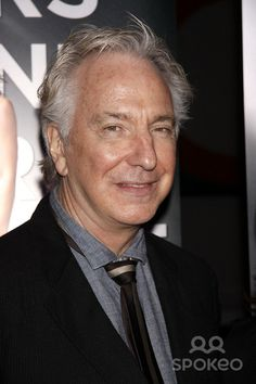 Alan Rickman. Special Broadway community advance screening of the TV show 'Smash' held at the Museum of Modern Art. New York City, USA