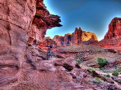 Amasa Back Trail Moab 2010 Mountain Biking USA