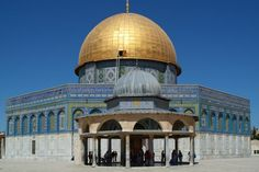 Jerusalem/Old City/Temple Mount/Dome of the Rock Cool Places To Visit, Great Places, Dome Of The Rock, Visit Israel, Temple Mount, Islamic Architecture, Continents, Ramadan, Adventure Travel