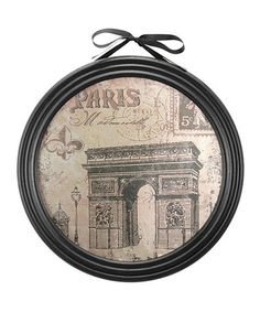 This 'Paris' Arc de Triomphe Wall Art is perfect! #zulilyfinds