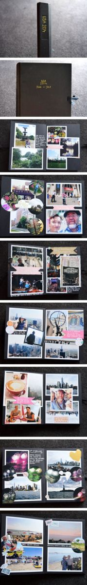 Travel Memories, Memory Books, Diy Projects To Try, Christmas Shopping, Nyc, Scrapbook, Sewing, Create, Blog