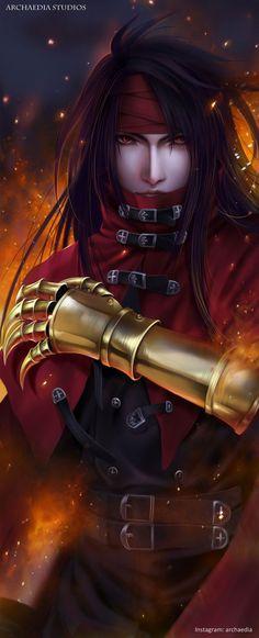 Vincent Valentine Final Fantasy VII Remake by ArchaediaStudios on DeviantArt