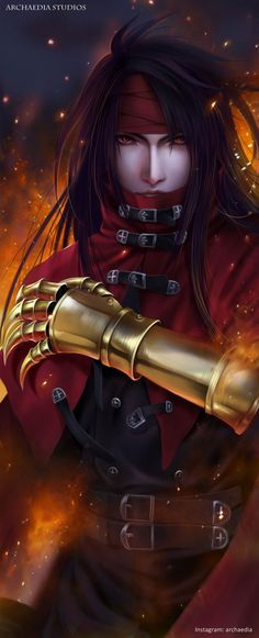 Vincent Valentine Final Fantasy VII Remake by ArchaediaStudios on DeviantArt