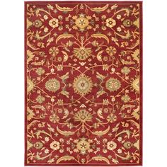 Shop for Safavieh Oushak Red/ Gold Rug (8' x 11'). Get free shipping at Overstock.com - Your Online Home Decor Outlet Store! Get 5% in rewards with Club O!