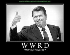 I sometimes feel the need to ask myself: WWRD?