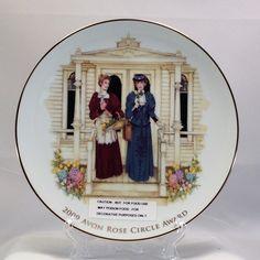 2009 Avon Rose Circle Plate Award, Findavon.com