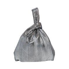 MAISON MARGIELA Mono Prix Metal Mesh Top Handle Bag (13 545 SEK) ❤ liked on Polyvore featuring bags, handbags, silver, mesh handbags, handle bag, metal mesh purse, mesh bag and maison margiela