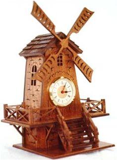 Windmill Clock Plan