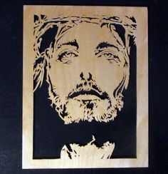 Jesus - Scrappile Scrolling - User Gallery - Scroll Saw Village