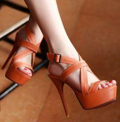 ENMAYER  2014 NEW high heel sandals fashion women dress sexy high-heeled sandals, summer wedding banquet oversized 34-43 $59.36 - 63.36