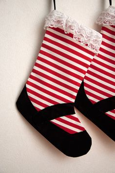 Pick your color of socks going to make this for my grandbaby and great nieces   mary jane christmas stockings