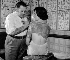 18 Vintage Photos of Tattooed Women from the 1890s to the 1960s « Art-Sheep