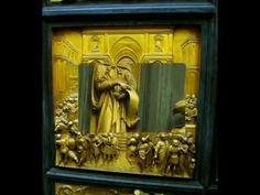 Fotos de: Italia - Florencia - Detalles puerta del Batisterio ( I ) Bajo...
