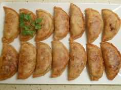 Empanadas criollas o argentinas