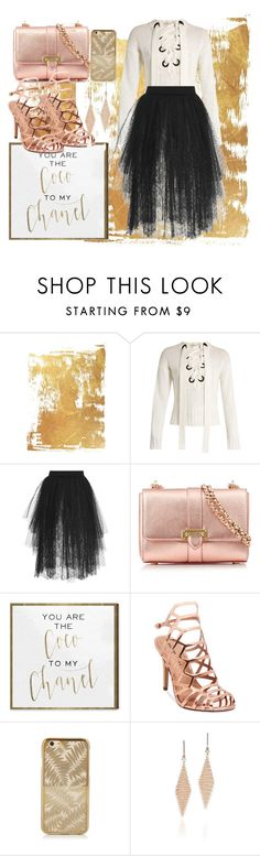 """""""Untitled #800"""" by brandi-gurrola on Polyvore featuring Joseph, Elie Saab, Aspinal of London, Oliver Gal Artist Co., Madden Girl and Tiffany & Co."""