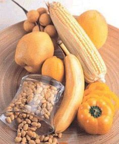 Yellow foods are thought to benefit the Spleen in Traditional Chinese Medicine