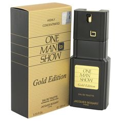 One Man Show Gold by Jacques Bogart Eau De Toilette Spray 3.3 oz