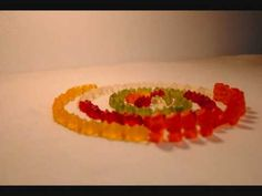 gummy bear stop motion animation