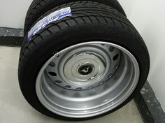 "Wheels are originally 17"" Peugeot 407 steelies, widened to 8½"" front and 9½"" rear. Tires are Falken FK452, 215/45-17 front and 235/40-17 rear."