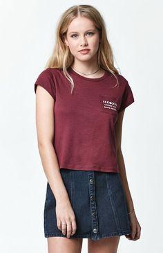 Moon Pocket Short Sleeve T-Shirt
