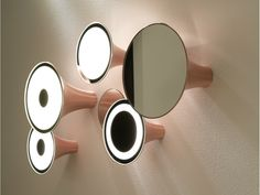 Copper wall lamp Sirens Series by Trizo21 | design Olga Bielawska #Copper #Inspiration