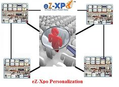 eZ-Xpo Announces The World's 1st Personalized Virtual Event Engine for Better Trade Show and Conference ROI