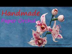 Орхидея из конфет.