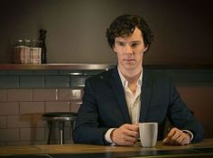 Is it me or the farther we go along in season 3, the more Sherlock evidences a five o'clock shadow? As if he is losing his perfect grooming because of ?