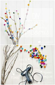 DIY Decorated Branch