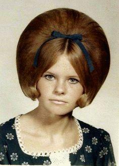 """hairdo - the bouffant.the original """"Texas big hair""""! Bad Hair Day, Big Hair, Short Hair, Retro Hairstyles, Girl Hairstyles, Beehive Hairstyles, Female Hairstyles, Amazing Hairstyles, Wedding Hairstyles"""