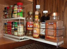 Spice Rack Nj Classy Products  Vertical Spice Spice Rack Drawers For Cabinet