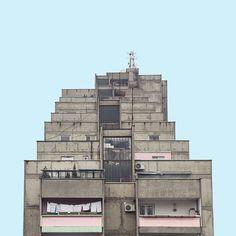 Photos: These 1970s brutalist buildings in Serbia look like Star Wars spaceships — Quartz